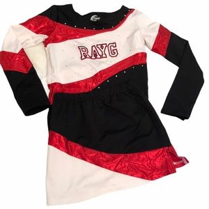 RAYG chasse  youth medium cheer outfit